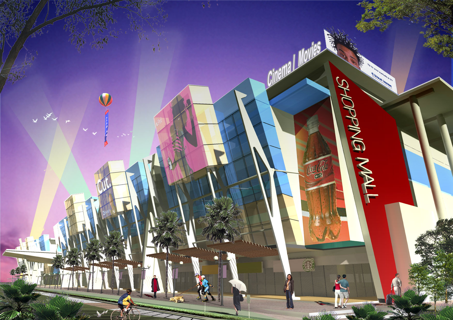 Shopping Mall Design
