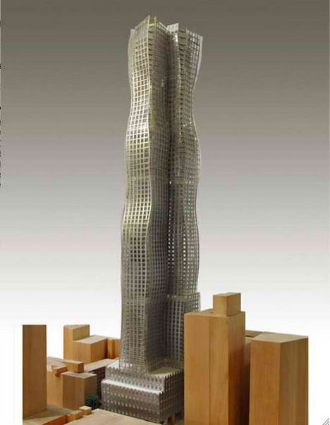 Frank Gehry and Bruce Ratner Proposal