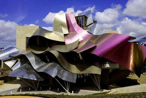 Frank Gehry – Hotel Marqués De Riscal | Alava, Frank Gehry, Hotel ...