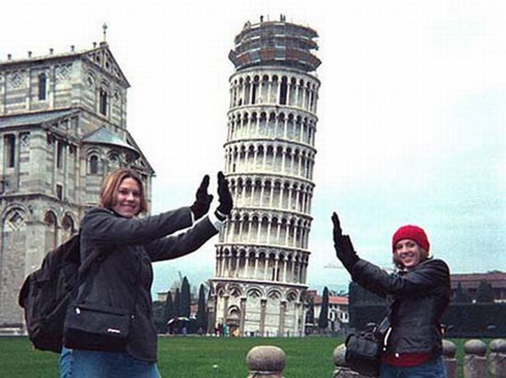 leaning_tower pisa optical illusion