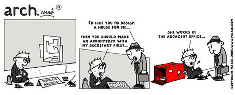 Architect Maaik Comic architecture
