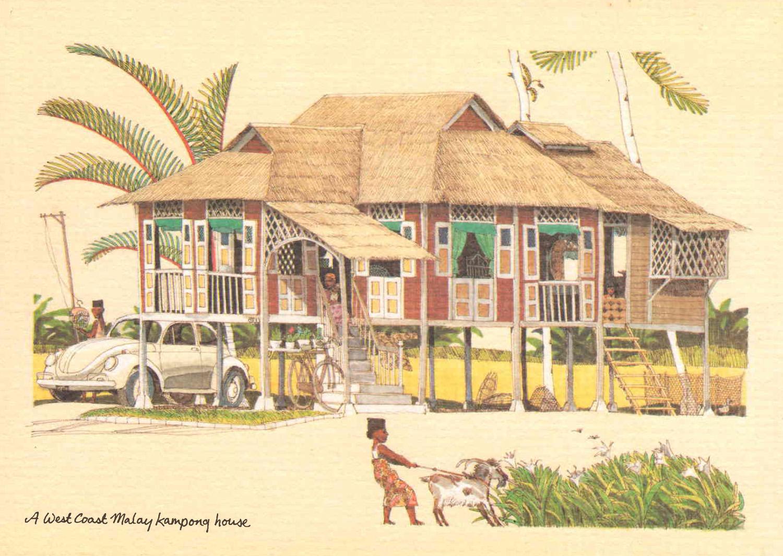 A West Coast Malaysia Kampung House