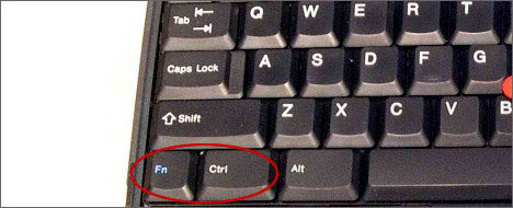 keyboard Ctrl