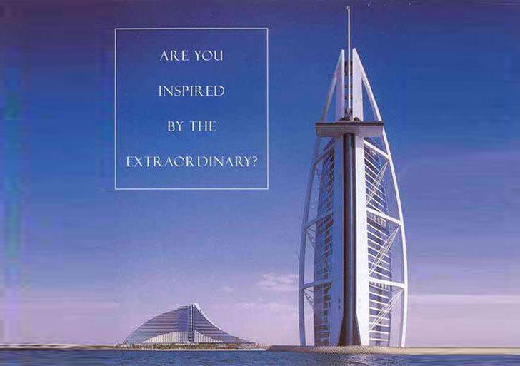 Burj al Arab - World's Largest Christian Cross