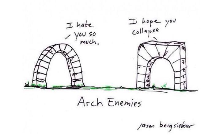 Architecture Fun comic