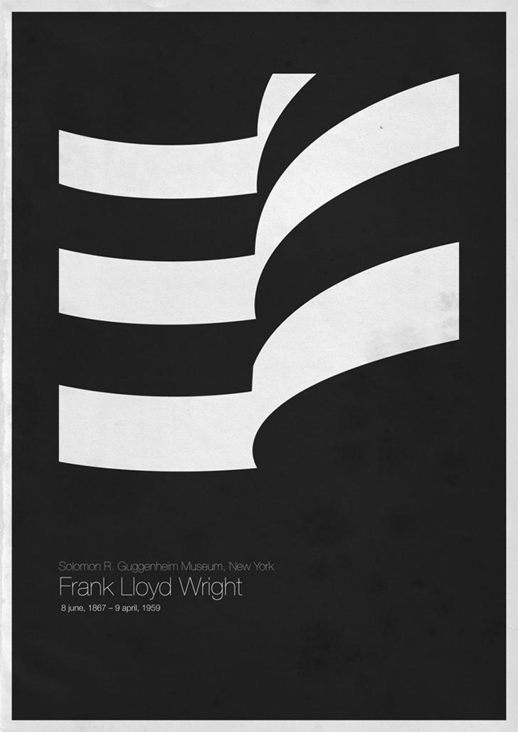 Frank Lloyd Wright Solomon R. Guggenheim Museum New York USA