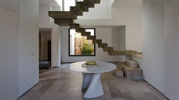 floating concrete architecture spain