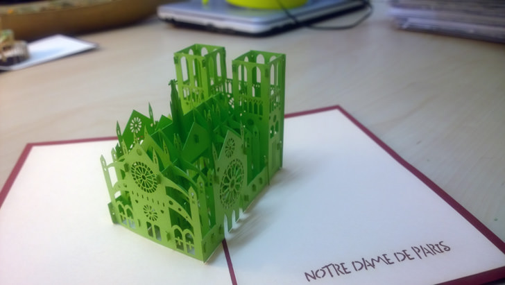 The Perfect Gift For Architect Interior Designer 3d Popup Cards