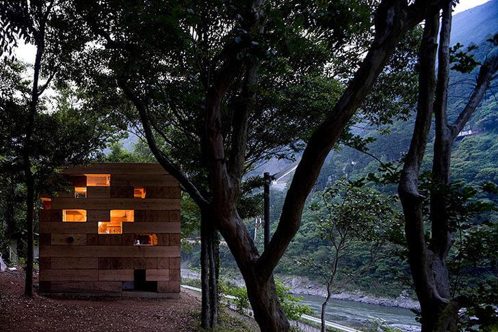 Final Wooden House in Kumamura Village
