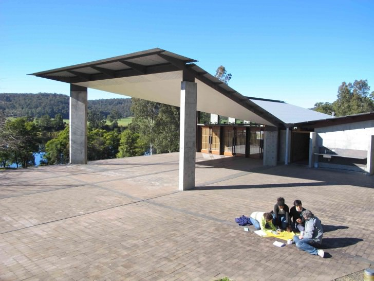 C. Group Outside 6758 15th Glenn Murcutt International Architeture Master Class, Australia