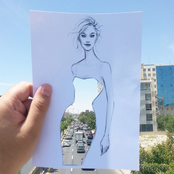 Architecture and Fashion Cut Out