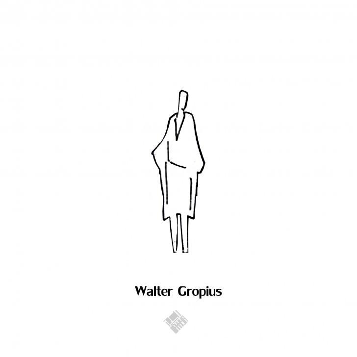 walter gropius figure